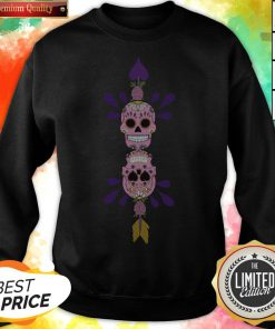Sugar Skulls In Love Day Of The Dead Sweatshirt