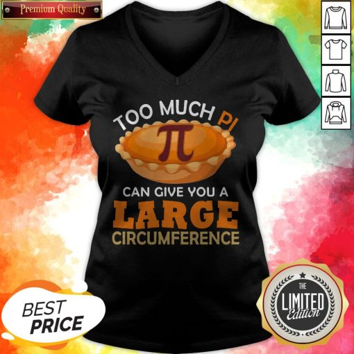 Too Puch Pi Cake Can Give You A Large Circumference Tank Top