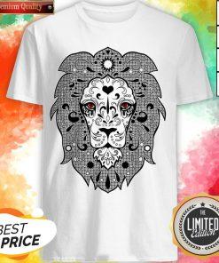 Vecta Lion Day Of The Dead Dia De Los Muertos Shirt