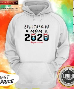 Bull Terrier Mom Quarantine ShirtBull Terrier Mom Quarantine Hoodie