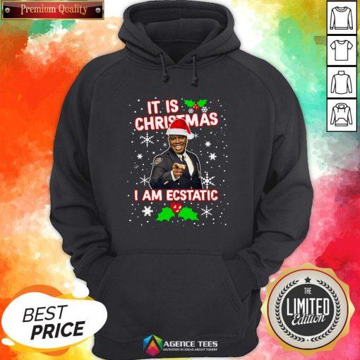 Captain Raymond Holt It Is Christmas I Am Ecstatic Hoodie