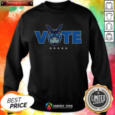 Democrat Donkey Vote 2020 Democratic Sweashirt