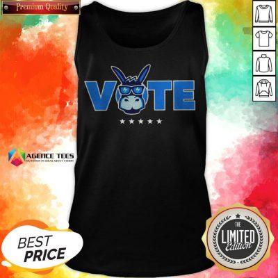 Democrat Donkey Vote 2020 Democratic Tank Top