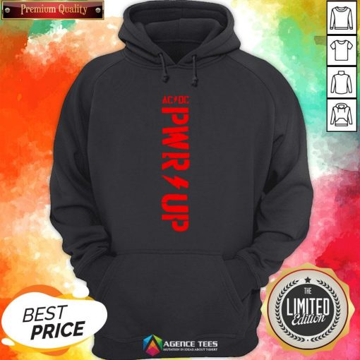 Funny ACDC – PWR UP T-Hoodie