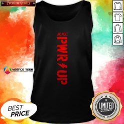 Funny ACDC – PWR UP T-Tank Top