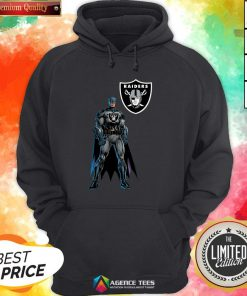 Funny Batman's Raiders Nation Hoodie