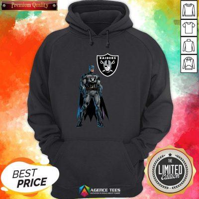 Funny Batman's Raiders Nation Hoodie