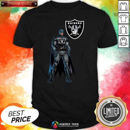 Funny Batman's Raiders Nation Shirt