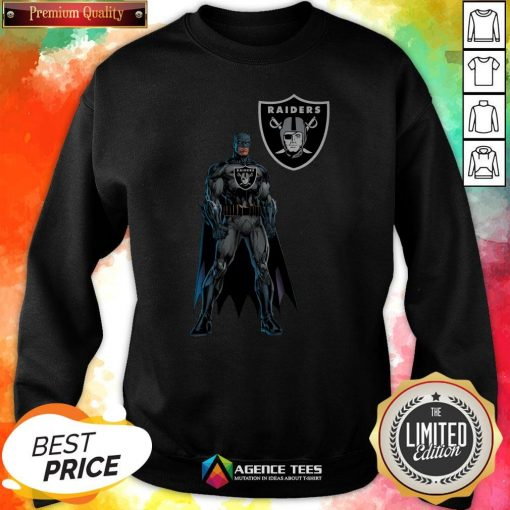 Funny Batman's Raiders Nation Sweatshirt