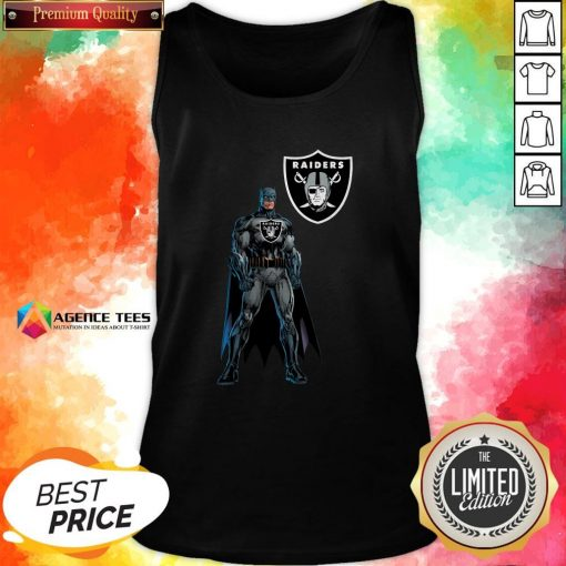 Funny Batman's Raiders Nation Tank Top