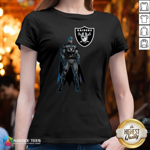 Funny Batman's Raiders Nation V-neck