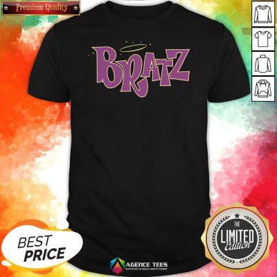Funny Bratz Pink Logo Shirt Design By Agencet.com