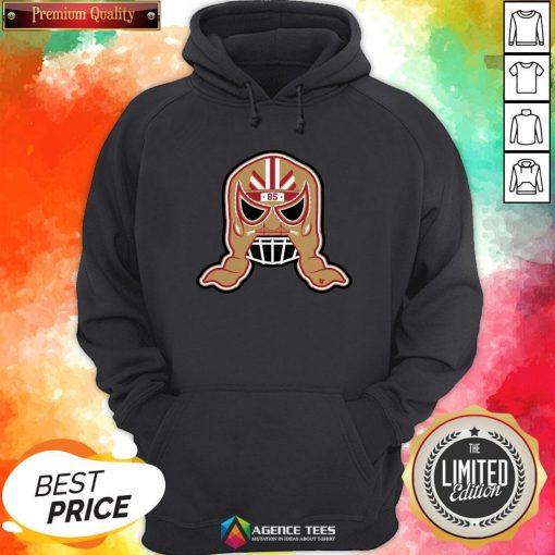 Funny George Kittle Lucha Mask 85 Hoodie