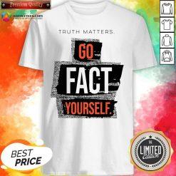 Funny John Pavlovitz Go Fact Yourself Shirt Design By Agencet.com