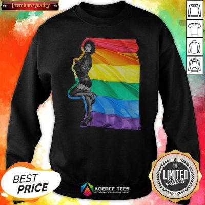Funny LGBT Frank N Furter The Rocky Horror Picture Show Sweatshirt Design By Agencet.com