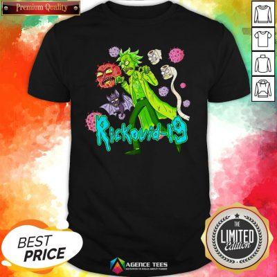 Funny Rick Sanchez Rickovid-19 Shirt