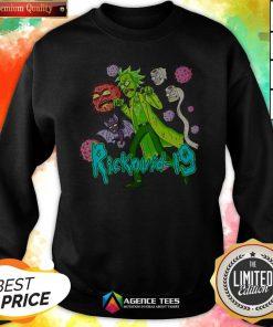 Funny Rick Sanchez Rickovid-19 Swetashirt