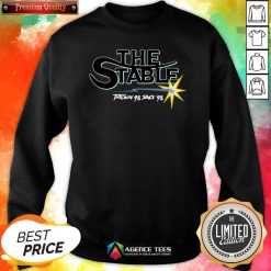 Funny The Stable Throwin'S 98 Since 98 SweatshirtDesign By Agencet.com