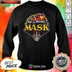Funny Urban Backwoods Mask Vintage Logo Sweatshirt Design By Agencet.com