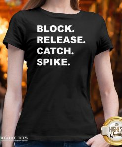Good Block Release Catch Spike V-neck Design By Agencet.com