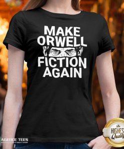 Good Epicdelusion Make Orwell Fiction Again V-neck Design By Agencet.com