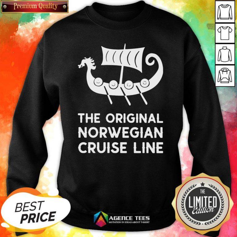 Good The Original Norwegian Cruise Line Sweatshirt Good The Original Norwegian Cruise Line