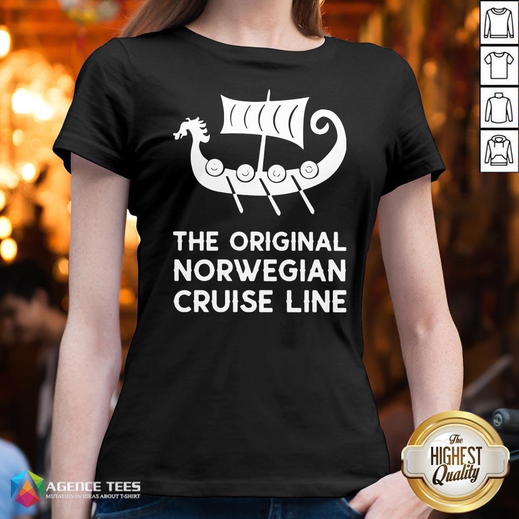 Good The Original Norwegian Cruise Line V-neck Good The Original Norwegian Cruise Line
