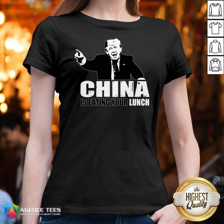 Good Trump China Is Eating Your Lunch V-neck