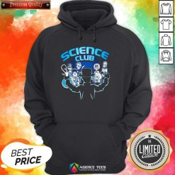 Happy Science Club Hoodie Design By Agencet.com
