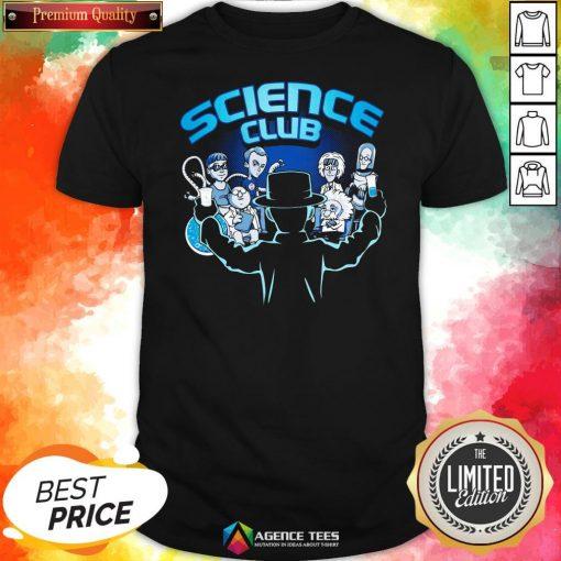 Happy Science Club Shirt Design By Agencet.com