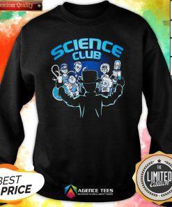 Happy Science Club Sweatshirt Design By Agencet.com