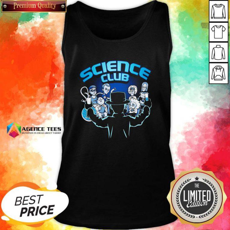 Happy Science Club Tank Top Design By Agencet.com