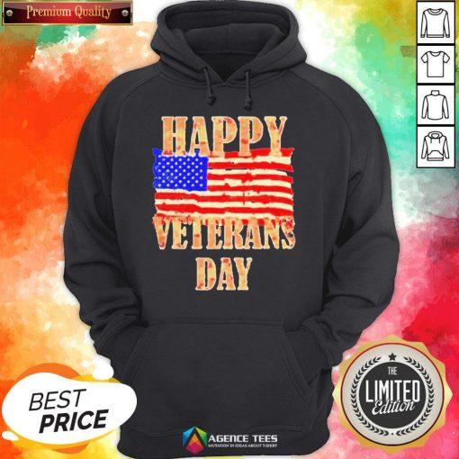 Happy Veterans Day American Hoodie