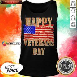 Happy Veterans Day American Tank Top