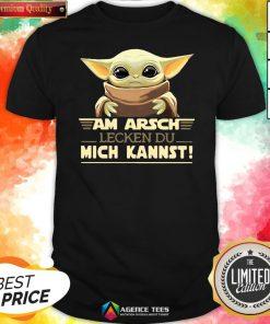 Hot Baby Yodda Am Arsch Lecken Du Mich Kannst T-Shirt Design By Agencet.com