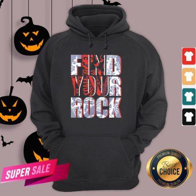 Hot Find Your Rock Skeleton Halloween Hoodie Design By Agencet.com