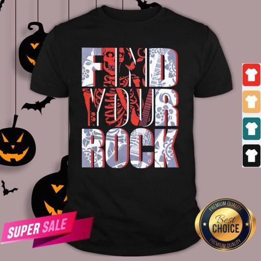 Hot Find Your Rock Skeleton Halloween Shirt Design By Agencet.com