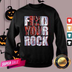 Hot Find Your Rock Skeleton Halloween Sweatshirt Design By Agencet.com