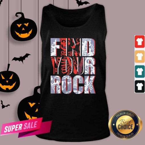 Hot Find Your Rock Skeleton Halloween Tank TopHot Find Your Rock Skeleton Halloween Tank Top Design By Agencet.com