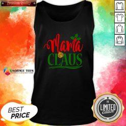 Hot Mama Santa Claus Hat Christmas Matching Family Group Pajama Tank Top Design By Agencet.com
