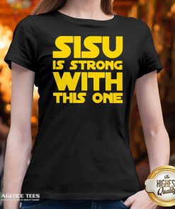 Hot Sisu Is Strong With This One V-neck Design By Agencet.com