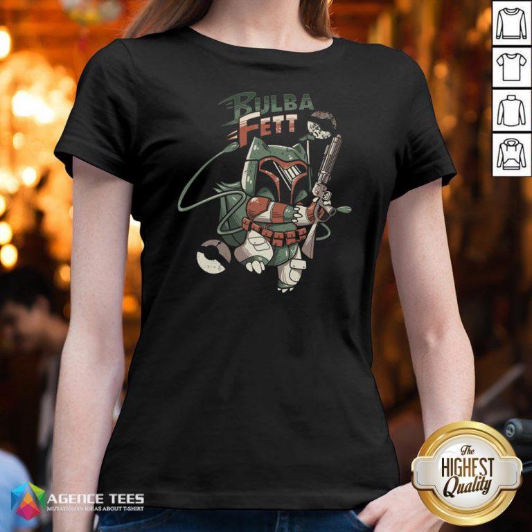 Hot Star Wars Bulba Fett V-neck Design By Agencet.com