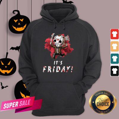 Jason Voorhees Chibi It'S Friday Halloween Hoodie