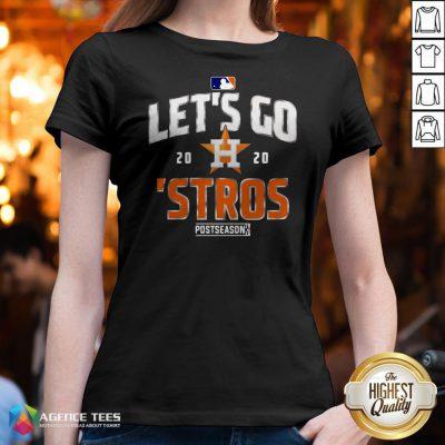 Let's Go 2020 Houston Astros V-neck