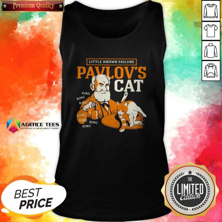 Little Known Failure Pavlov's Cat Ring Ring Tank Top