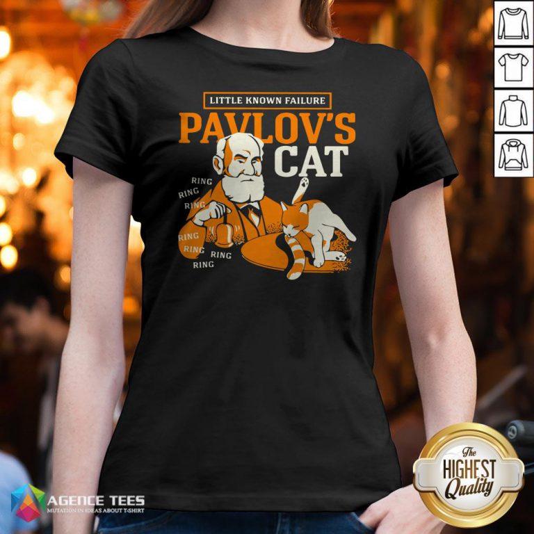 Little Known Failure Pavlov's Cat Ring Ring V-neck