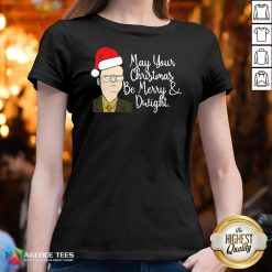 May Your Christmas Be Merry And Dwight Christmas V-neck