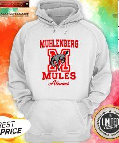Muhlenberg Mules Alumni Logo Hoodie