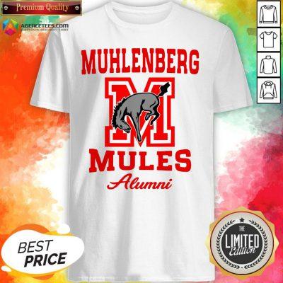 Muhlenberg Mules Alumni Logo Shirt