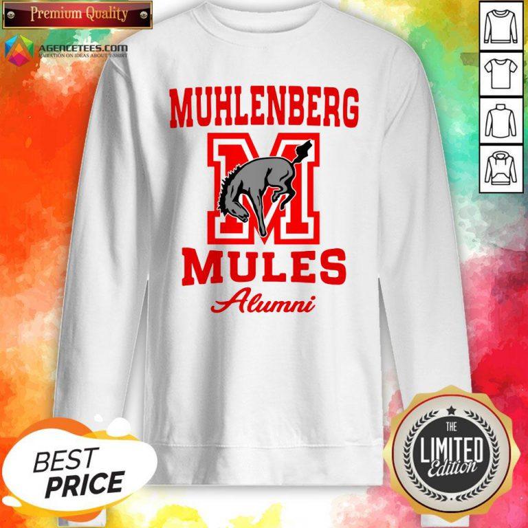 Muhlenberg Mules Alumni Logo Sweatshirt